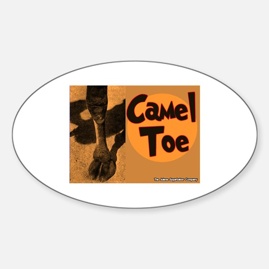 Camel Toe Oval Decal