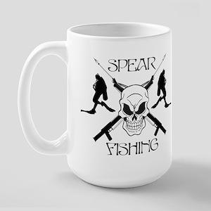 Spear Fishing 2 Large Mug