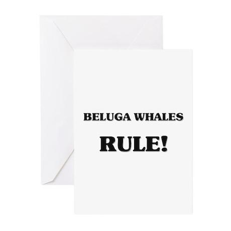 Beluga Whales Rule Greeting Cards (Pk of 10)