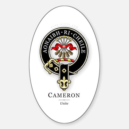 Clan Cameron Rectangle Decal