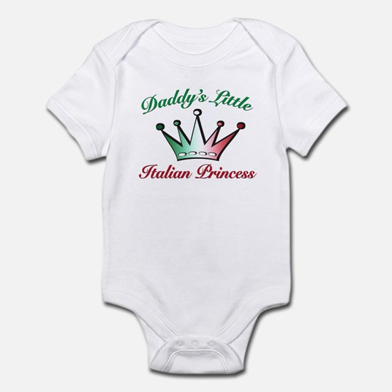 daddy's little Italian Prince Infant Bodysuit