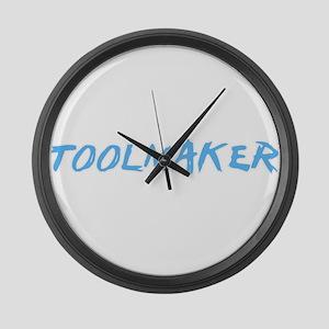 Toolmaker Profession Design Large Wall Clock
