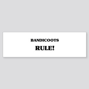 Bandicoots Rule Bumper Sticker