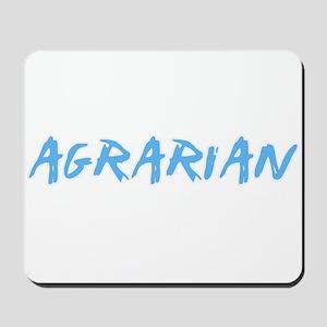 Agrarian Profession Design Mousepad
