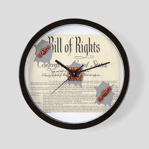 Bill of Rights Wall Clock