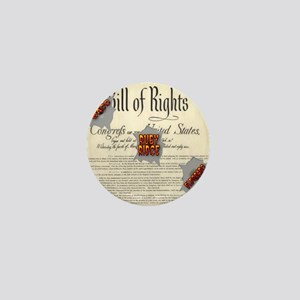 Bill of Rights Mini Button