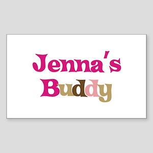 Jenna's Buddy Rectangle Sticker
