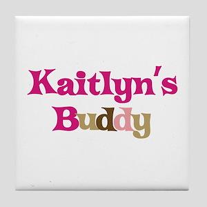 Kaitlyn's Buddy Tile Coaster