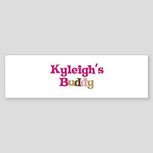 Kyleigh's Buddy Bumper Sticker