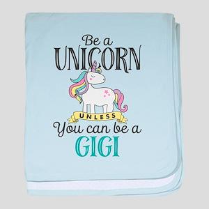 Unicorn GIGI baby blanket