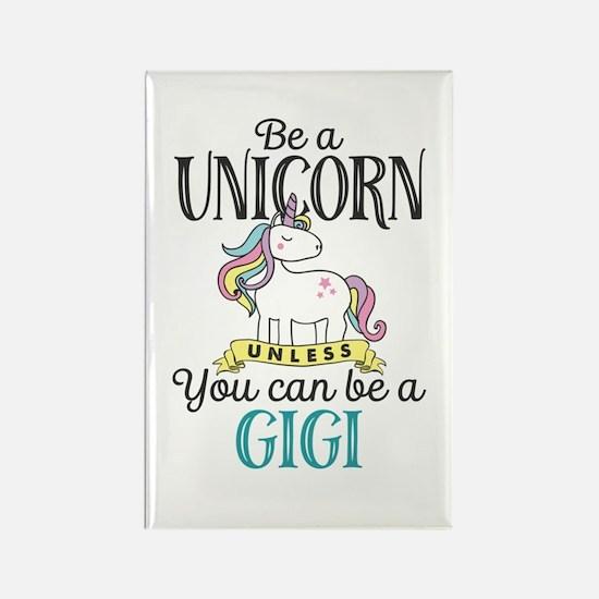 Unicorn GIGI Rectangle Magnet