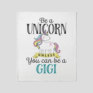 Unicorn GIGI Throw Blanket