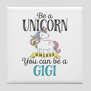 Unicorn GIGI Tile Coaster