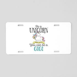 Unicorn GIGI Aluminum License Plate