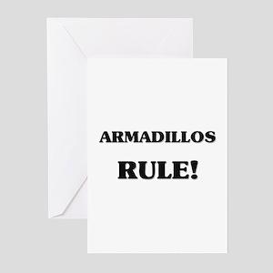 Armadillos Rule Greeting Cards (Pk of 10)