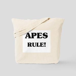 Apes Rule Tote Bag