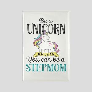 Unicorn Stepmom Rectangle Magnet