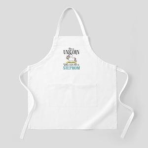 Unicorn Stepmom Light Apron