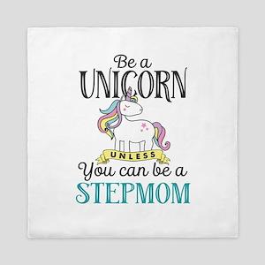 Unicorn Stepmom Queen Duvet