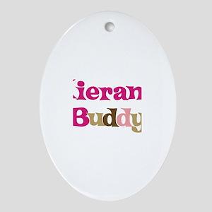 Kieran's Buddy Oval Ornament