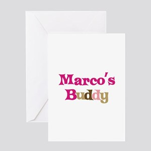 Marco's Buddy Greeting Card