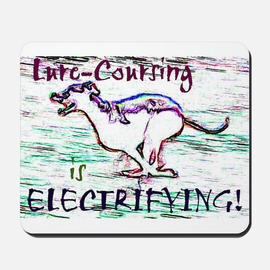 Lure Coursing Mousepad