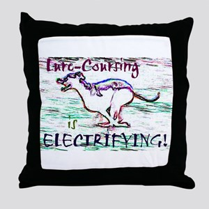 Lure Coursing Throw Pillow