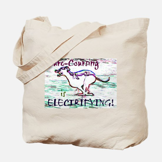 Lure Coursing Tote Bag