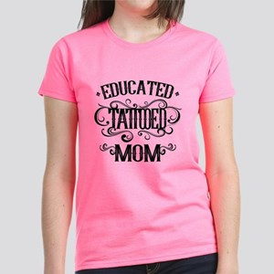 Tattooed Mom Women's Dark T-Shirt