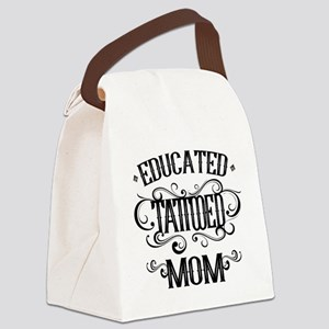 Tattooed Mom Canvas Lunch Bag