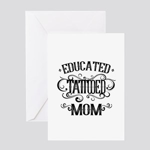 Tattooed Mom Greeting Card