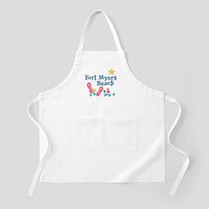 Ft. Myers Beach Flip Flops - BBQ Apron