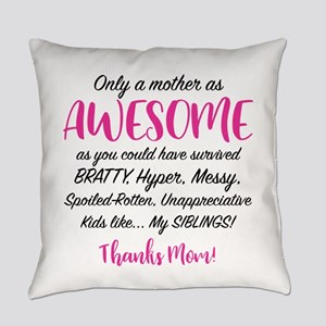 Funny Mom Everyday Pillow