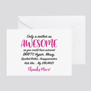 Funny Mom Greeting Card