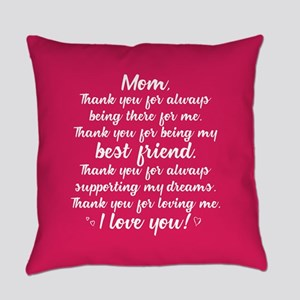 Thanks Mom Everyday Pillow