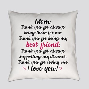 Thanks Mom Everyday Pillow