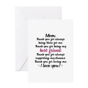 Thanks mom mothers day beautiful poems greeting cards cafepress m4hsunfo