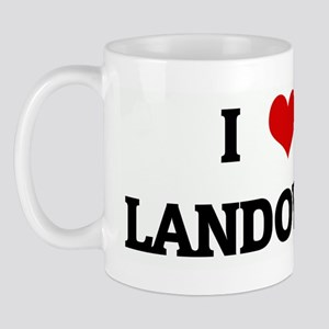 I Love LANDOVER Mug