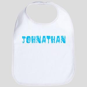 Johnathan Faded (Blue) Bib