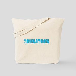 Johnathon Faded (Blue) Tote Bag