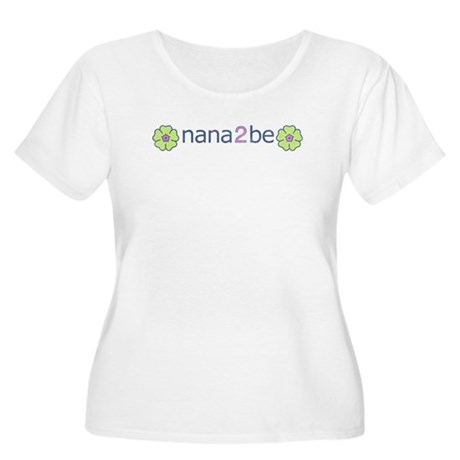 nana2be Women's Plus Size Scoop Neck T-Shirt