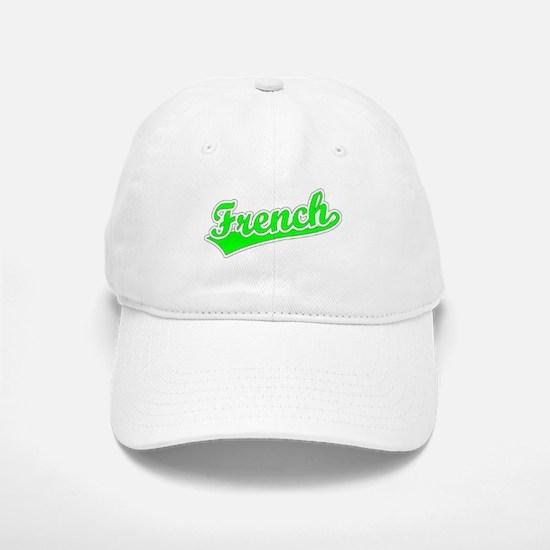 Retro French (Green) Baseball Baseball Cap