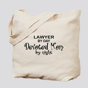 Lawyer Devoted Mom Tote Bag