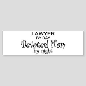 Lawyer Devoted Mom Bumper Sticker
