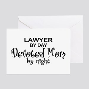 Lawyer Devoted Mom Greeting Cards (Pk of 10)