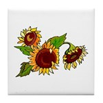 Sunflower Garden Tile Coaster