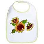 Sunflower Garden Bib