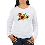 Sunflower Garden Women's Long Sleeve T-Shirt