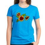 Sunflower Garden Women's Dark T-Shirt