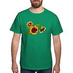 Sunflower Garden Dark T-Shirt